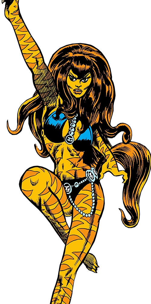 Tigra (Marvel Comics) (Profile #3)