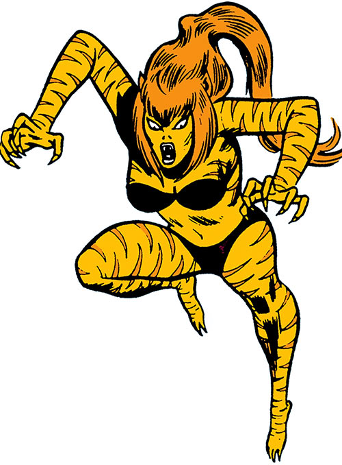 Tigra (Marvel Comics) (Early version)
