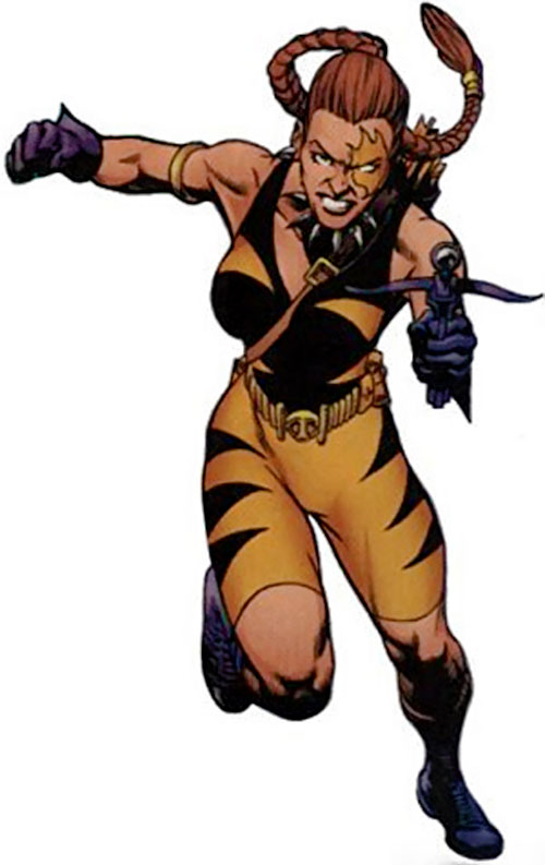 Tigress of the Injustice Society (Crock) (JSA enemy) (DC Comics)