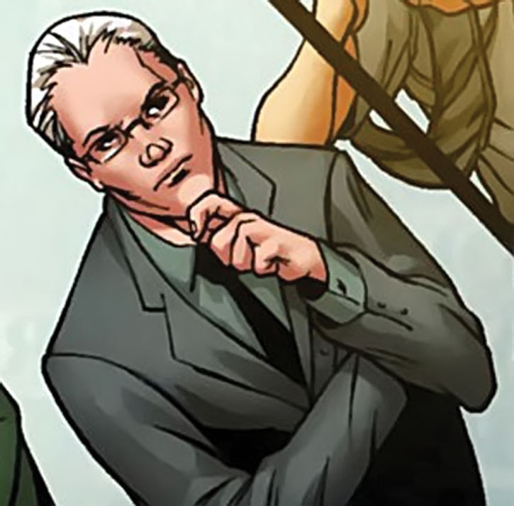 Tim Gunn in a Marvel comic