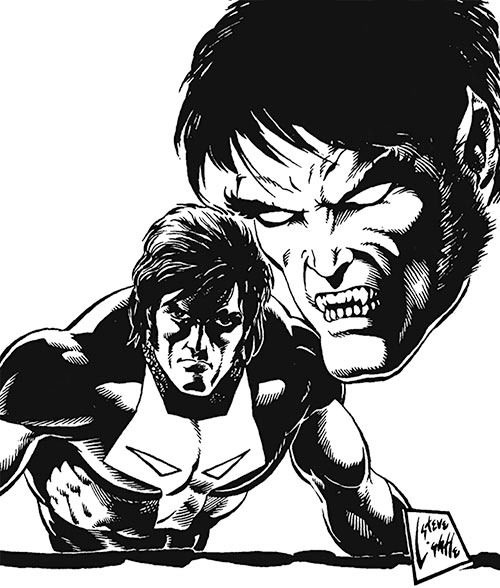 Timber Wolf (Legion of Super-Heroes) from the Who's Who
