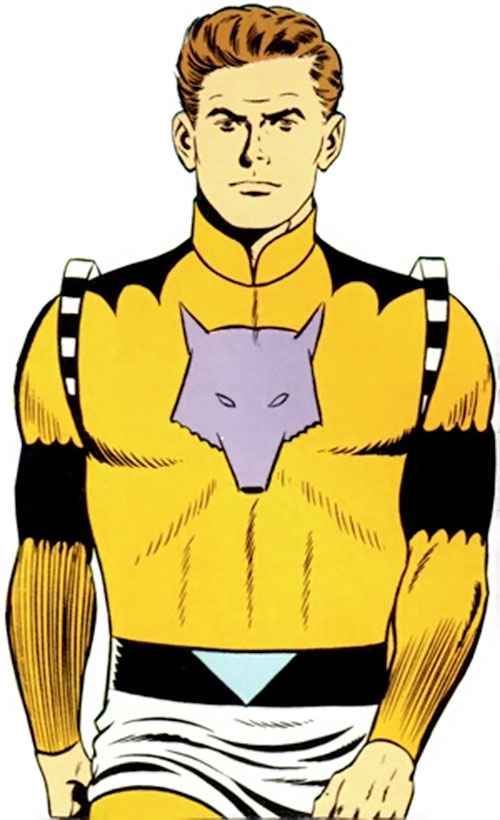 Timber Wolf (Legion of Super-Heroes) during the Silver Age