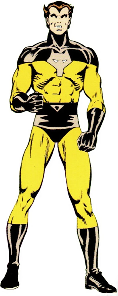 Timber Wolf (Legion of Super-Heroes) during the Bronze Age
