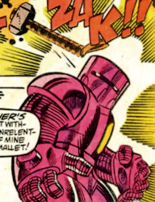 Doctor Doom's Timebot vs. Thor (Marvel Comics)