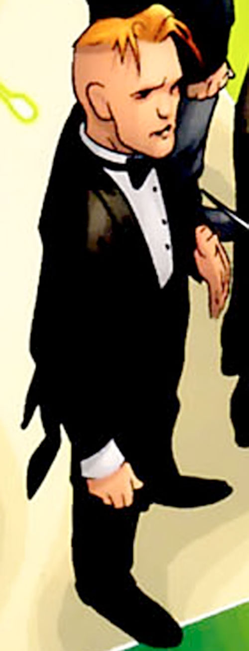 Timothy Ravenwind (7 Soldiers) (DC Comics) in a tuxedo
