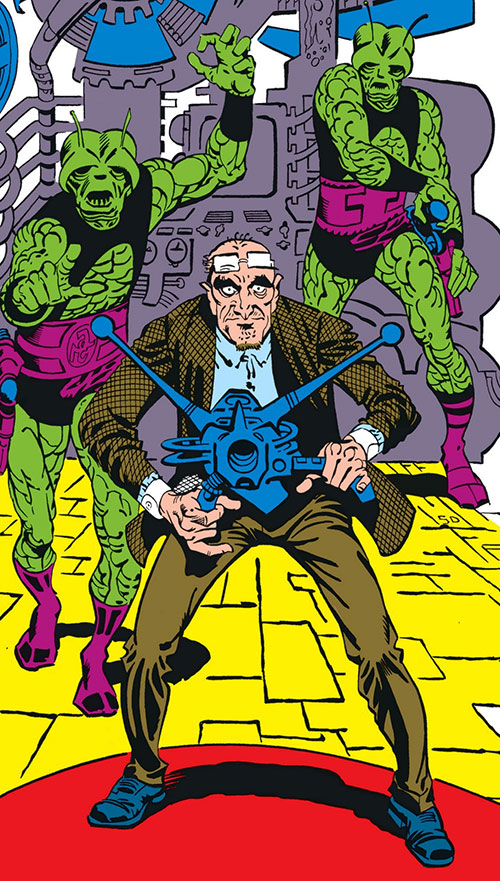 Tinkerer (Marvel Comics) and his bogus aliens
