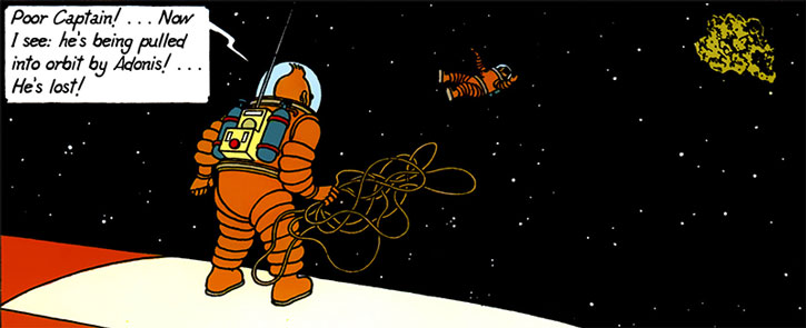 Tintin in space