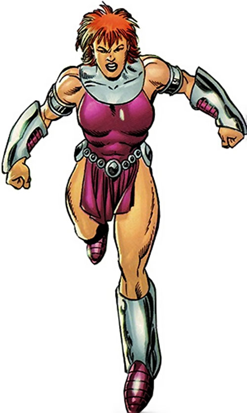 Titania of the League of Super-Assassins (LSH DC Comics) modern appearance