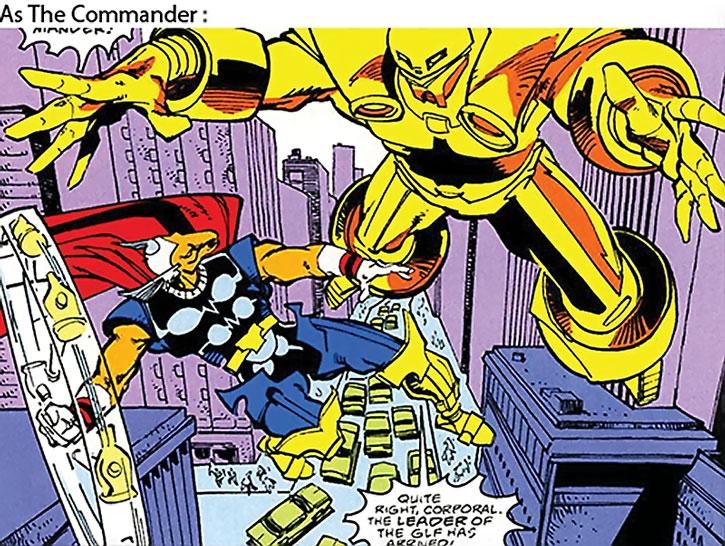 Titanium Man (Boris Bullski) as the Commander
