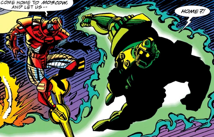 Titanium Man (Boris Bullski) and the Crimson Dynamo
