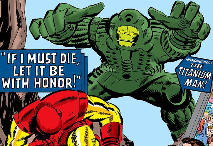 Titanium Man (Boris Bullski) vs. Iron Man cover art