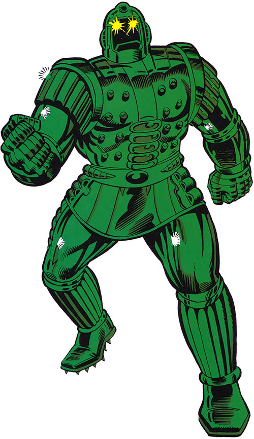 Titanium Man (Iron Man classic enemy) (Marvel Comics)