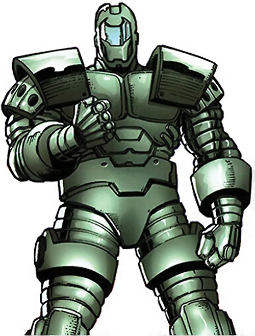 Titanium Man (Iron Man enemy) (Modern Marvel Comics) green armour