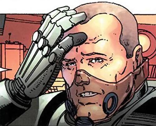 Titanium Man (Iron Man enemy) (Modern Marvel Comics) as Stockwell