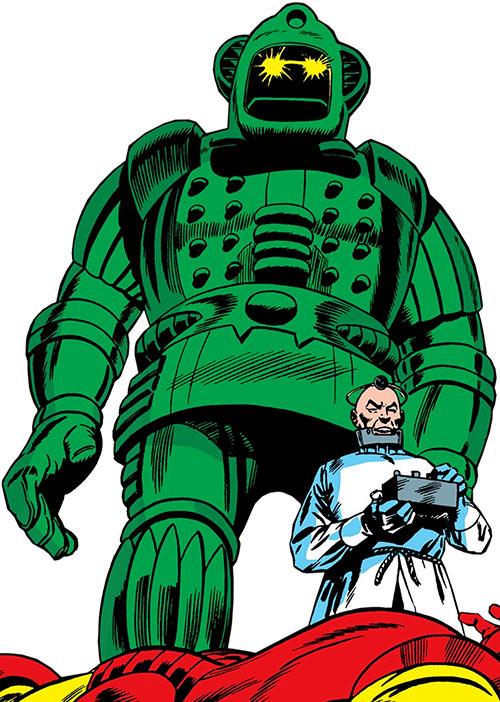 Titanium Man and Half-Face (Marvel Comics)