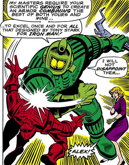 Titanium Man vs. Crimson Dynamo