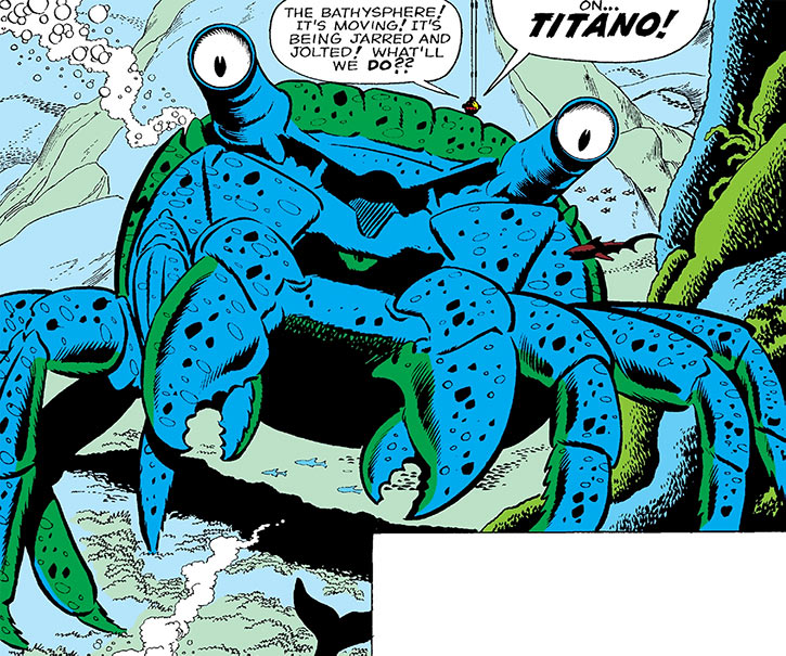 Titano the crab - Tales to Astonish - Marvel Comics