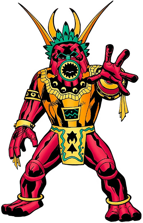 Tomazooma the Living Totem (Fantastic 4 character) (Marvel Comics)