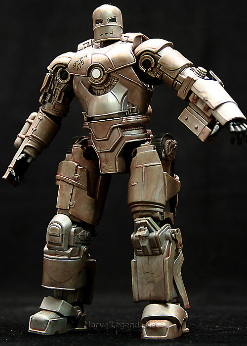 Iron Man (Robert Downey Jr. in the first Marvel movie) figurine of the first armor