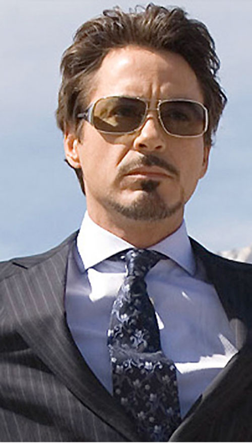 Tony Stark (Robert Downey Jr. in the first Marvel movie)