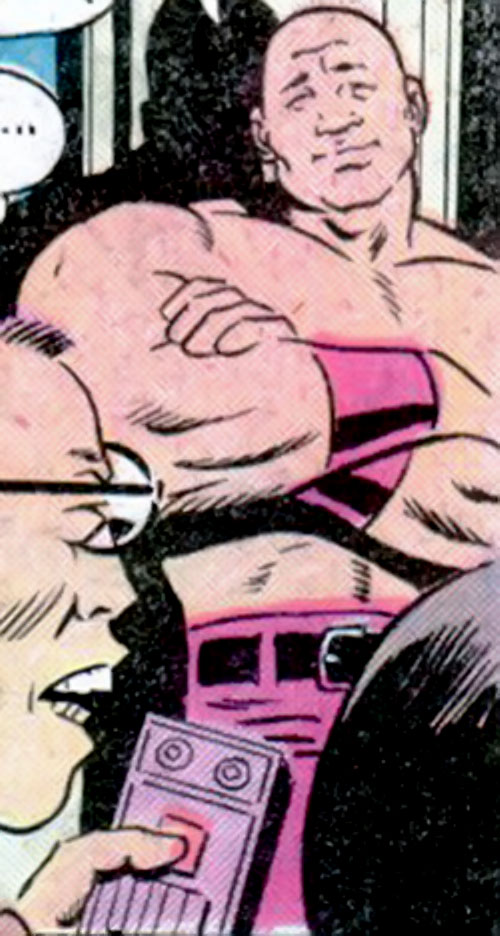 Topper (Richard Dragon character) (DC Comics) and Doctor Moon