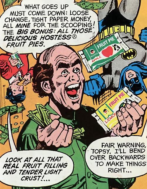 Topsy-Turvy Man (Hostess comics)