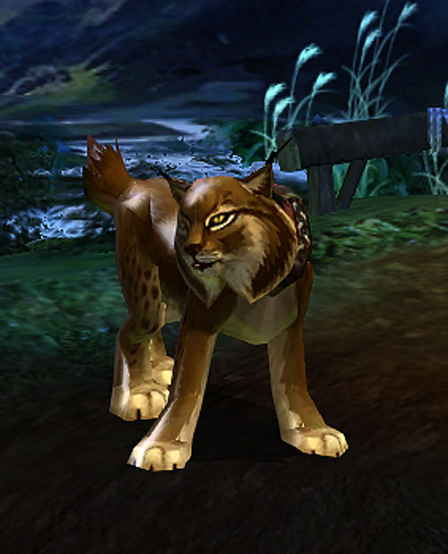 Vanquisher Torchlight video game - lynx pet