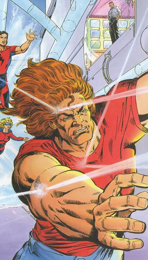 Torque of the Harbingers (Valiant Comics 1990s original) ignoring gunfire
