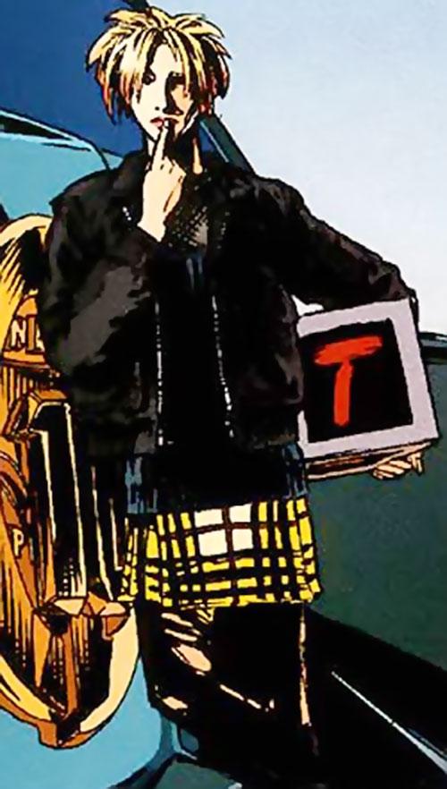 Toybox (Top Ten comics) pondering