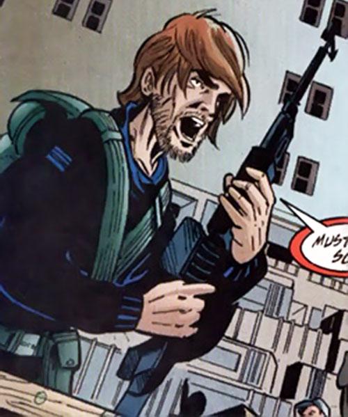 Transbelvan mafia soldier (DC Comics)