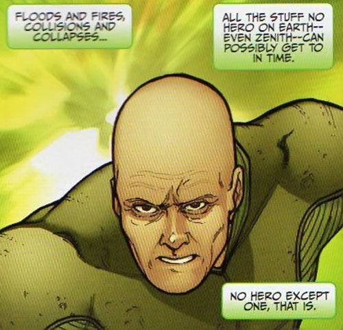Transom of Halcyon (Image Comics) face closeup