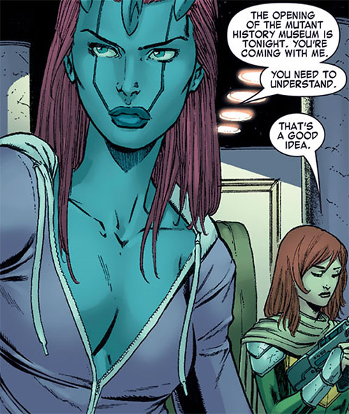 Transonic of Generation Hope (X-Men character) (Marvel Comics) purple track vest