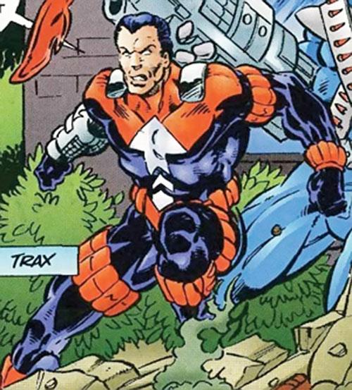 Trax of the Exiles (Malibu Comics Ultraverse)