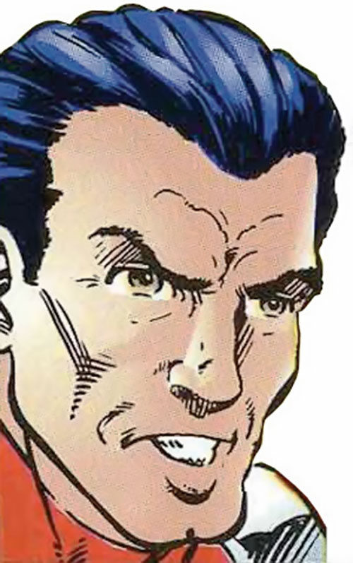 Trax of the Exiles (Malibu Comics Ultraverse) face closeup