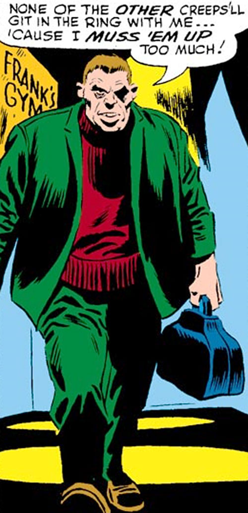 Tri-Man (Daredevil enemy) (Marvel Comics) operator Mauler