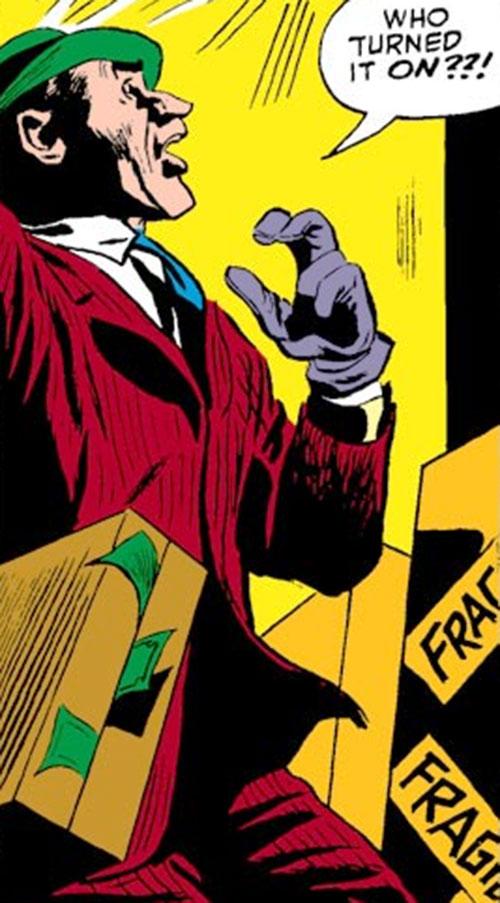 Tri-Man (Daredevil enemy) (Marvel Comics) operator Dancer