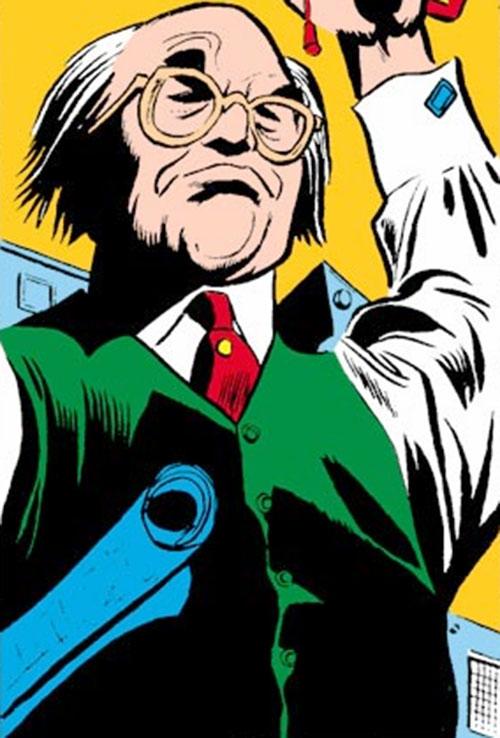 Tri-Man (Daredevil enemy) (Marvel Comics) operator the Brain