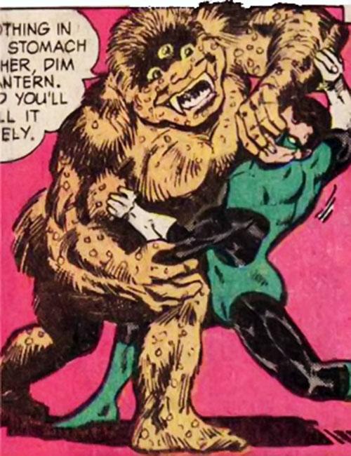 Triclops (Hostess Comics) vs. Green Lantern