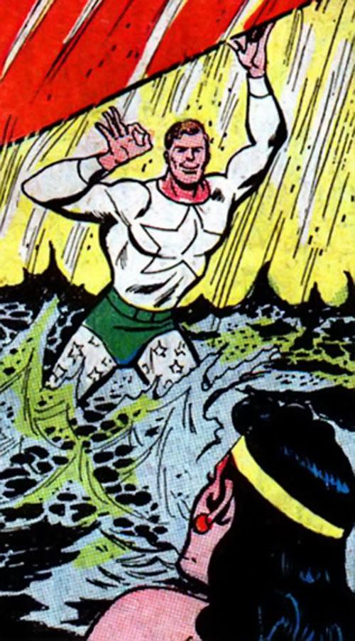 Triple Stars (Wonder Woman characters) (DC Comics) - white star