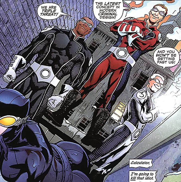 Triple Threat vs. Catwoman
