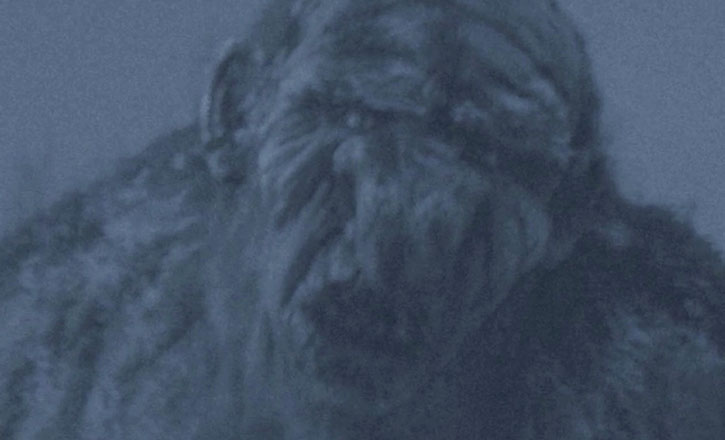 The giant troll Jotnar in the movie Trollhunter