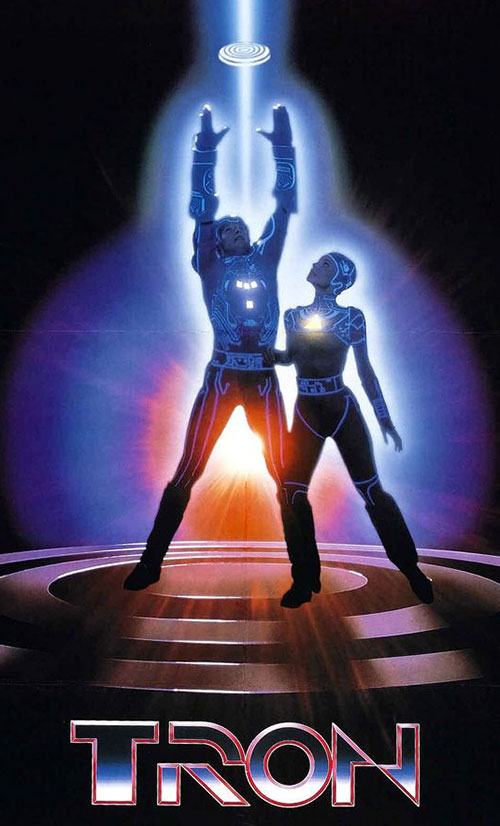 Tron and Yuri from the movie poster