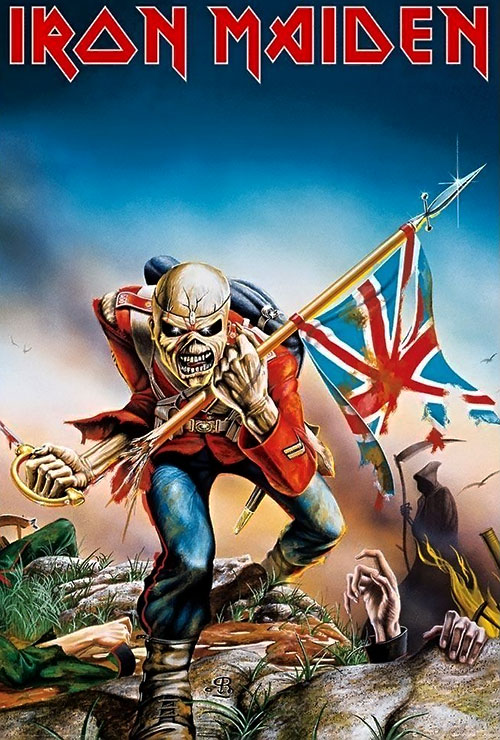 Iron Maiden's Eddie as The Trooper