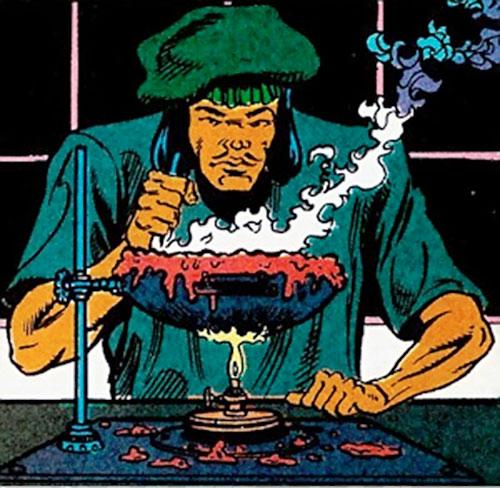 Tsunami (Butcher ally) (DC Comics) working with wax