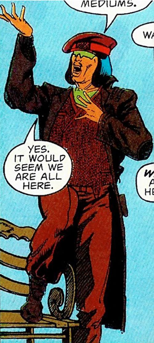 Tsunami (Butcher ally) (DC Comics) being flamboyant