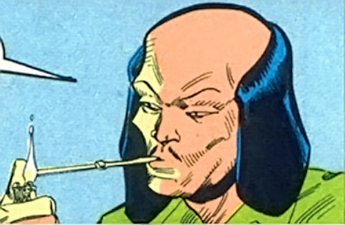 Tsunami (Butcher ally) (DC Comics) lighting up