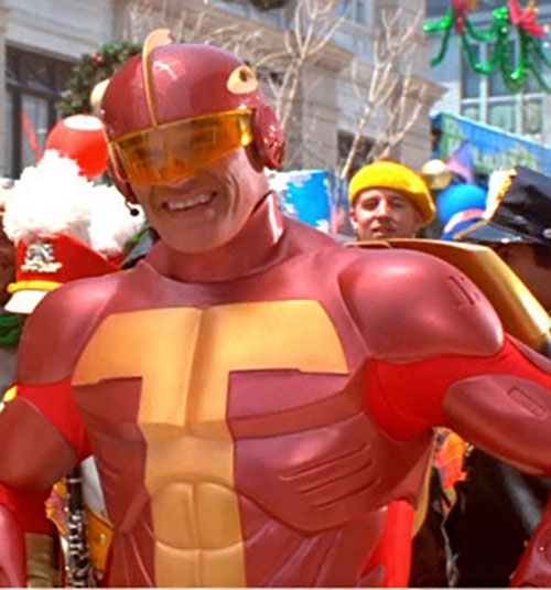 Turbo Man (Arnold Schwarzenegger in Jingle All The Way) closeup