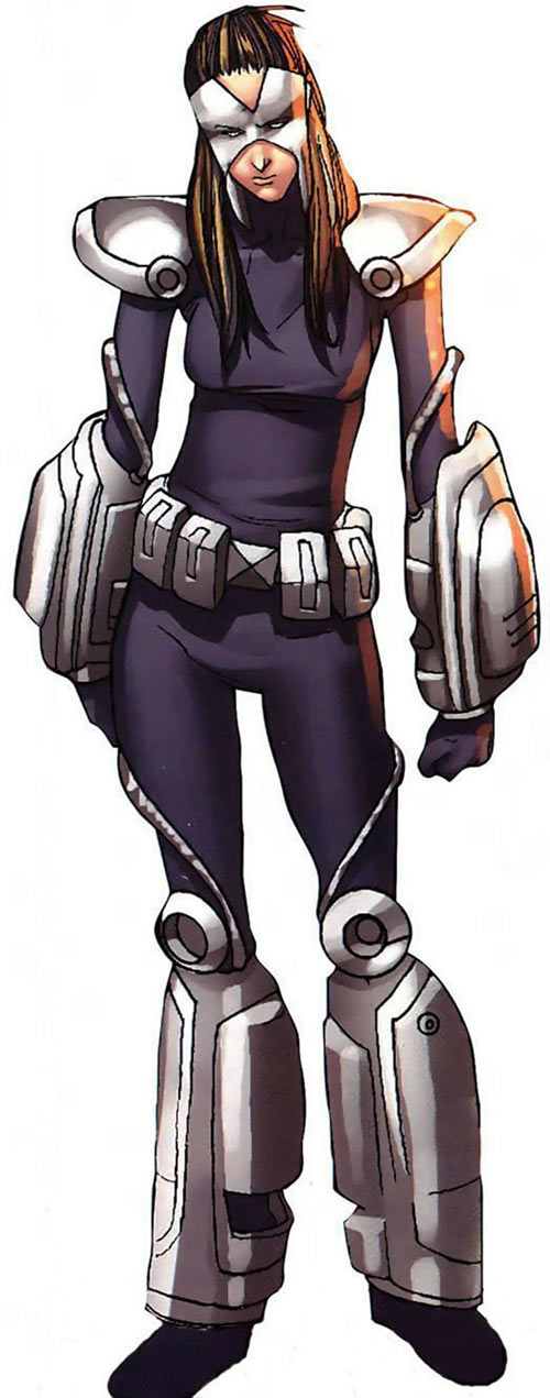 Turbo (Marvel Comics) (New Warriors) (Musashi) modern suit