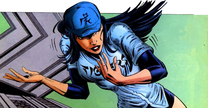 Turbo (Marvel Comics) (New Warriors) (Musashi) baseball clothing