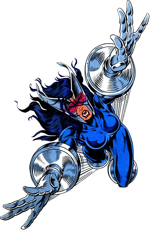 Turbo (Marvel Comics) (New Warriors) (Musashi)